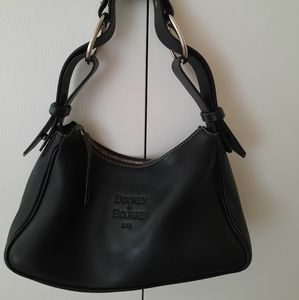 Dooney & Bourke black leather should bag